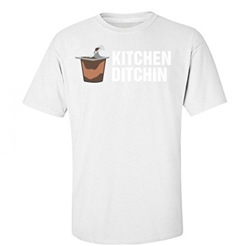 Kitchen Ditchin Snack: Unisex Fruit of the Loom T-Shirt (Jersey Shore Outfits)