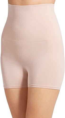 Jockey Women's Slimmers High Waist Boyshorts Light 8 (High Waist Slimmer Panty)