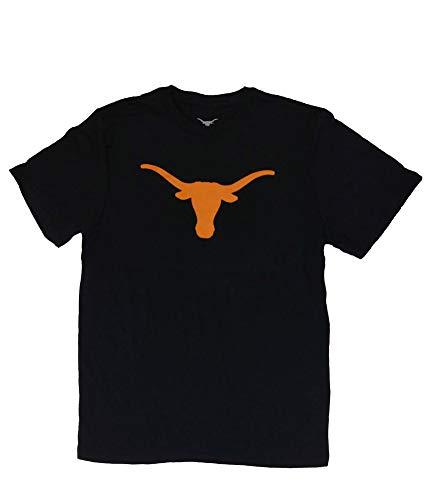 Elite Fan Shop Texas Longhorns Tshirt Icon Black - M ()