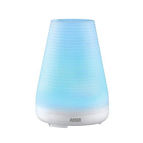 Amir Essential Oil Diffuser, Aromatherapy Ultrasonic Mist Ai