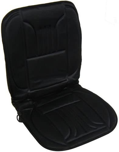 Heats in Seconds Winter Essential Interior Black Front Comfy Warm Heated Seat Cover Cushion for Smart Car Roadster 2003-2006