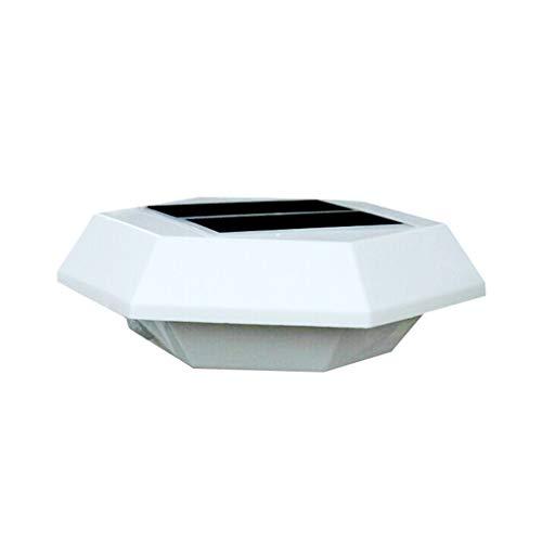 Kiorc Solar Outdoor Wall Lamp Waterproof LED Body Sensor Light Garden ()