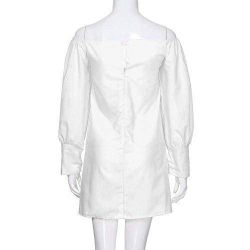 Longues shirt Et Fuxitoggo Courtes Manches Pour À Longues Femmes T Courtes OxUvZ