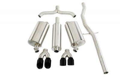 CORSA 14872BLK Cat-Back Exhaust System