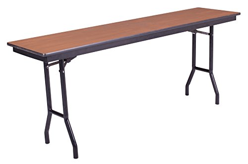 Stained Molding (Folding Table, Plywood Stained and Sealed, Vinyl T-Molding Edge, 24