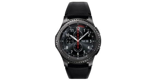 Samsung R760 Gear S3 Frontier Smart Watch - Space Grey: Amazon com