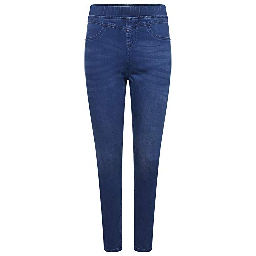 M17 Women Ladies Denim Jeans Jeggings Sculpt Pull On Skinny Fit Casual Cotton Trousers Pants with Pockets