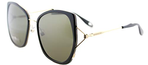 Sunglasses Givenchy Gv 7031/S 0ANW Black Gold/E4 brown lens