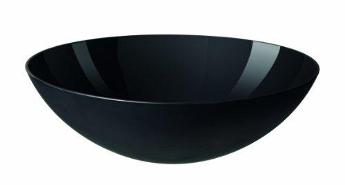 Krenit Melamine Salad Bowl, Black