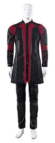Mtxc Men's Avengers: Age of Ultron Cosplay Costume Hawkeye Clinton Barton Full Set Size X-Small (Hawkeye Avengers Age Of Ultron Costume)