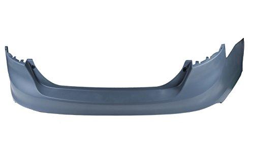 AUTOPA CP9Z-17K835-BAPTM Primered Rear Bumper Cover Facial for Ford Focus Sedan 2012-2014 2.0L
