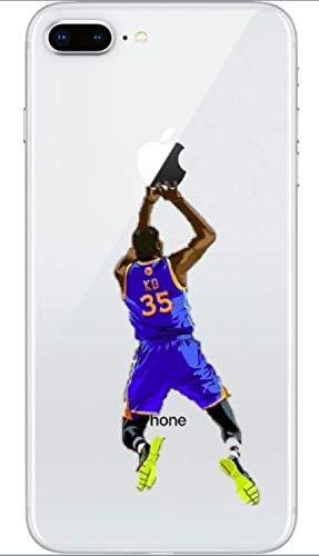 Art Design Funda iPhone 7+ Plus/iPhone 8+ Plus Kevin Durant ...