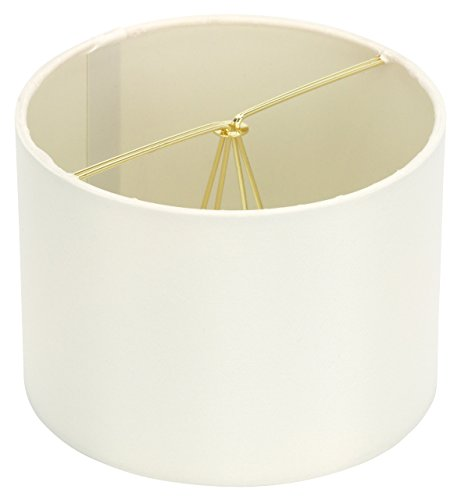 Silk Chandelier (Upgradelights Eggshell Silk Clip On Barrel Chandelier Lamp Shade (5.5x5.5x4))
