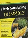 img - for Herb Gardening for Dummies, 2nd Edition (Thorndike Large Print Health, Home and Learning) book / textbook / text book