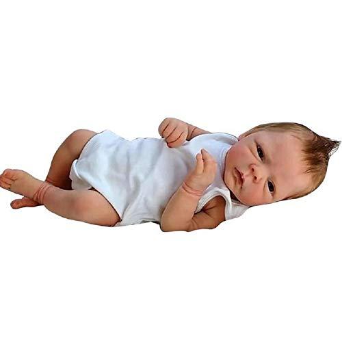 ZDLT Reborn Baby Doll Levensechte Baby Doll Vinyl Baby Doll Realistische Reborn Pop