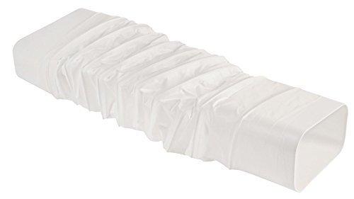abluftkanal dunstabzug free lftungsrohr x mm lnge m meter aus kunststoff kanal flachkanal. Black Bedroom Furniture Sets. Home Design Ideas