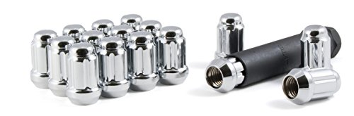 - Gorilla Automotive 21182HT Small Diameter Acorn Chrome 4 Lug Kit (1/2