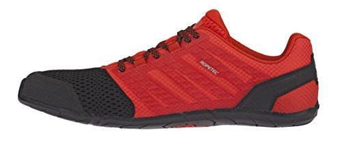 Inov-8 Mens Bare-XF 210 V2 - Barefoot Minimalist Cross Training Shoes - Zero Drop - Wide Toe Box - Versatile Shoe for Powerlifting & Gym - Calisthenics & Martial Arts - Black/Red 8 M US by Inov-8 (Image #2)