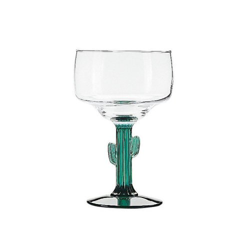 Libbey Glassware (3619JS) - 12 oz Cactus Margarita Glass by Libbey