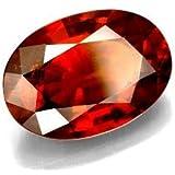 Divya Shakti 9.25 - 9.50 Ratti Hessonite ( GOMED STONE ) 100 % ORIGINAL CERTIFIED NATURAL GEMSTONE AAA QUALITY