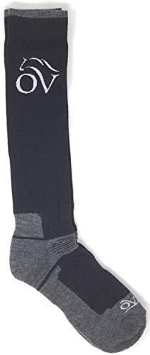 MerinoWool KH Sock, Black/Gray ()