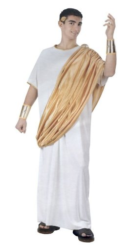 FunWorld Hail Caesar, White, One Size Costume -