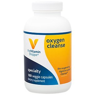 The Vitamin Shoppe Oxygen Cleanse, The Oxygenating Digestive System Cleanser with Magnesium and Potassium (180 Veggie Capsules)