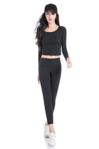 Alice & Belle Women's Classic High Waist Leggings High Rise Yoga Pants ()