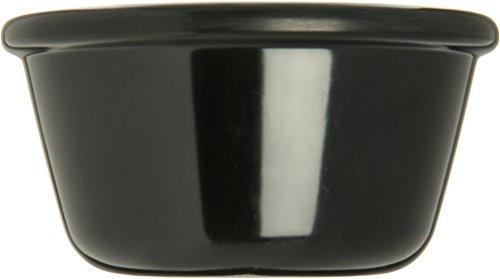 Carlisle S28503 Melamine Smooth Ramekin, 4 oz. Capacity, Black (Case of 48) by Carlisle (Image #3)'