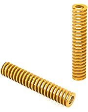 MroMax 25mm OD 30mm Long Light Load Compression Mould Die Spring Yellow for 3D Printer Electric Part 1PCS