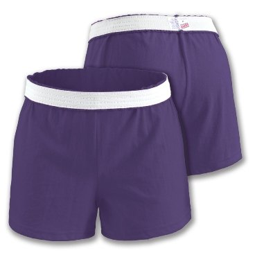 - Soffe Junior Purple Authentic Short-LARGE