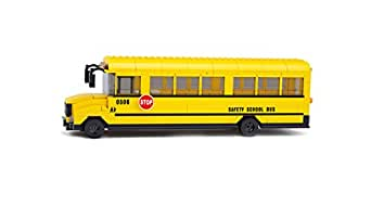 Sluban Building and Construction Blocks M38-B0506 Big School Bus Building Block Construction Set ( 392 Bricks )