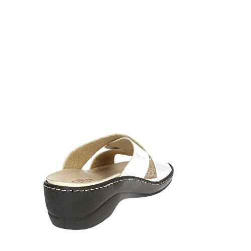 Cinzia VV Soft Mules Femme Blanc IAEH63 WrzOT4AW