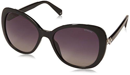 Polaroid S Brillant 807 polarisé de lunettes PLD en 56 soleil X 4063 Noir noir papillon qFq6zxr