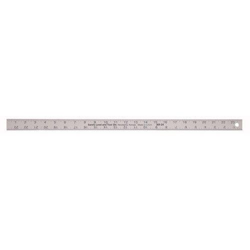 Kraft Tool SLAR18, 18'' x 1-1/8'' Aluminum Rule, Pack of 100 pcs