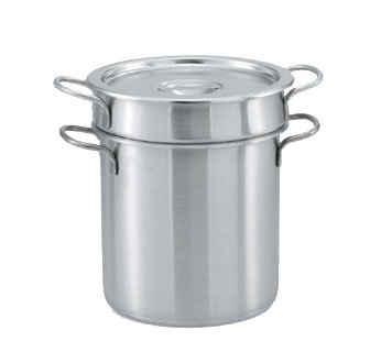 Vollrath 77110 S/S 11.5 Qt Double Boiler Set with 11 Qt Inset