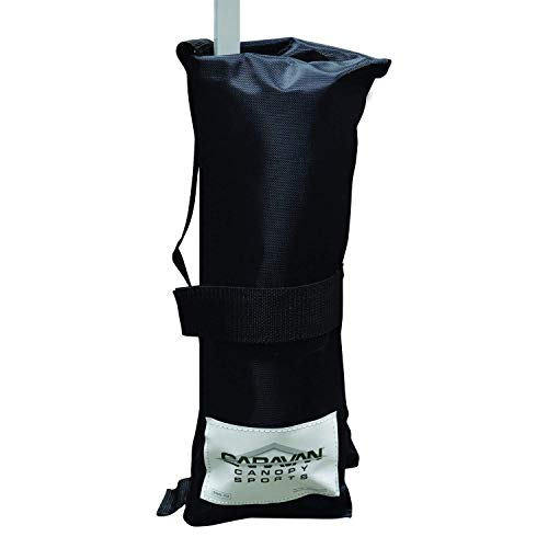 Caravan Canopy Outdoor Canopy Weight Bags - Set of 4, Black (Premium Weight Bags - Set of 4)