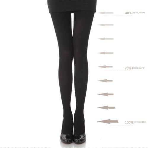 Stylekim Slimming Compression Tights Footed Pantyhose Stockings At Amazon Womens Clothing Store