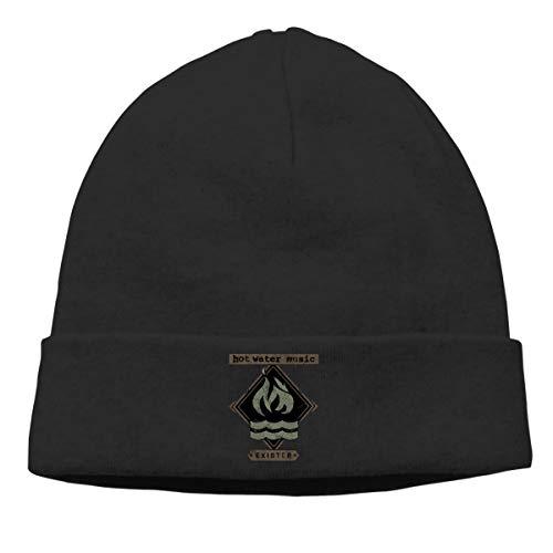 DADAJINN Mens & Womens Hot Water Music Exister Skull Beanie Hats Winter Knitted Caps Soft Warm Ski Hat - Water Exister Hot Music