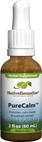 Natif PureCalm remèdes, 60 ml