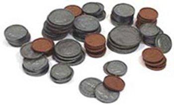 Case of 2 LER0068 Treasury Coin Assortment 460//Pk Set Plastic Realistic