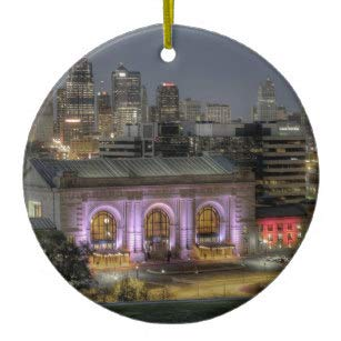 Union Station Kansas City Ceramic - City Union Station