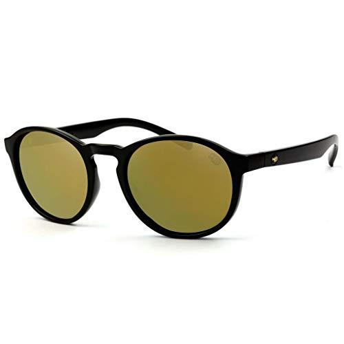 Óculos De Sol Hb Gatsby 9010000202/53 Preto Brilhante