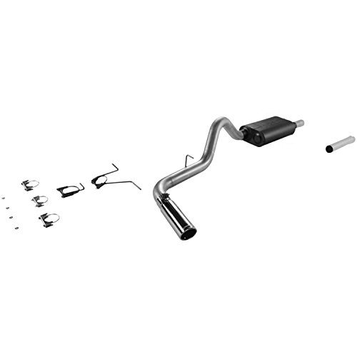 Flowmaster 17278 Cat-back System - Single Side Exit - Force II - Mild/Moderate Sound Dodge Dakota Cat Back Exhaust