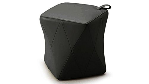 Harlequin Modern Leatherette Ottoman with Handle - (Leatherette Guest Chair)