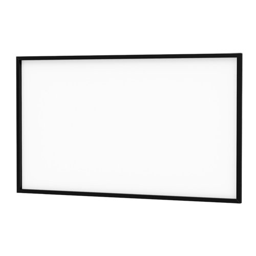 Da-Snap Black Fixed Frame Projection Screen Viewing Area: 87