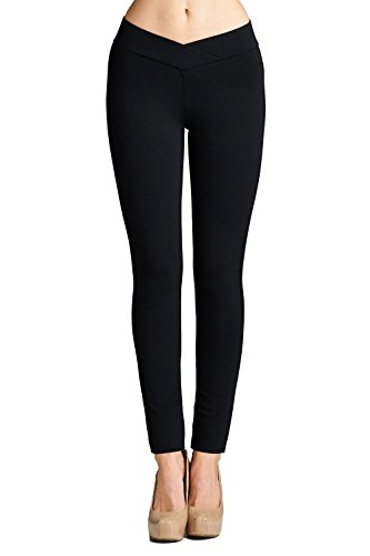 l21-womens-slim-fit-stretch-professional-ponte-pants-black-large