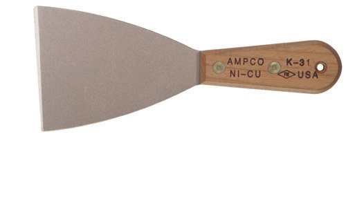 Ampco Safety Tools K-31 Knife, Putty, Non-Sparking, Non-Magnetic, Corrosion Resistant, 3-1/2'' Flex Blade