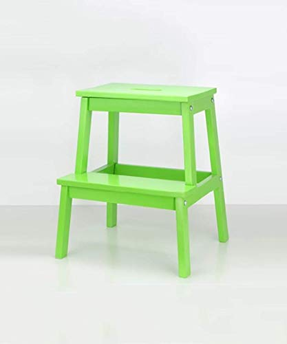 L.HPT-Plant Stands Step Stool Ladder Stool for Kids Solid Wood Stairs Chair Ladder Chair Home Wooden Utility Step Ladder Stool Creative Dual Use in Wood Iibrary Ladders (Color : H) (Color : F)