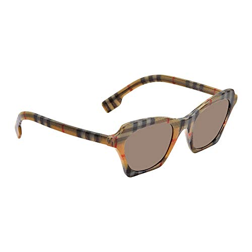 Burberry Women's 0BE4283 Vintage Check/Brown One Size